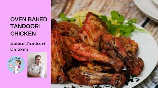 getlinkyoutube.com-Oven Baked Tandoori Chicken - Indian Style by A Homemade Chef