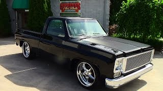 getlinkyoutube.com-77 Chevy C-10 Street Truck Griffey's Hot Rods and Restorations