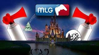 getlinkyoutube.com-Disney Intro (MLG Air Horn Remix)