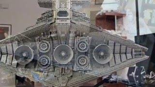 getlinkyoutube.com-ISD Tyrant - LEGO Imperial Star Destroyer MOC w/ Interior