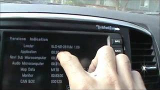 getlinkyoutube.com-HOW TO: Play DVD in Motion Mitsubishi Lancer, Multi Communication System EASY