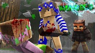 getlinkyoutube.com-Minecraft THE WALKING DEAD - LITTLE CARLY KILLS LITTLE KELLY??