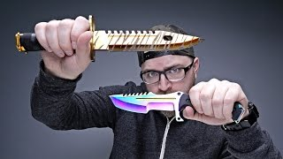 getlinkyoutube.com-VIDEO GAME KNIVES IN REAL LIFE