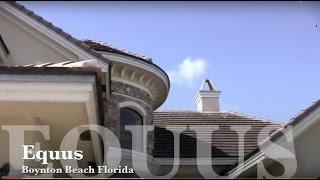 getlinkyoutube.com-Home For Sale in Boynton Beach, Florida - Equus Gated Community
