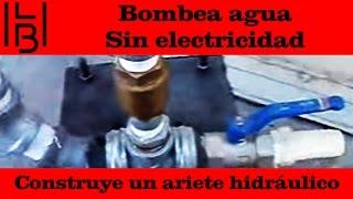 getlinkyoutube.com-¡Bombea agua sin electricidad! construye un ariete hidráulico
