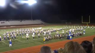 getlinkyoutube.com-MHS Marching Band - Showcase Performance 2016, Part 1