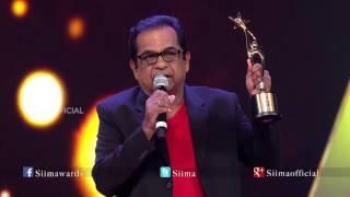 getlinkyoutube.com-Micromax Siima 2015 | Best Comedian Telugu | Bhramanandam | Race Gurram