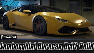 getlinkyoutube.com-Need For Speed 2015: Lamborghini Huracan LP610-4 Drift Build (Best Drift Car)
