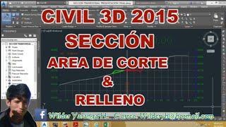 getlinkyoutube.com-CIVIL 3D 2016  2017 AREA DE CORTE Y RELLENO