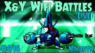 getlinkyoutube.com-Pokemon X and Y Wifi Battle #016 (Live) Vs. Live Wifi Vs. Nihanth - Mega Heracross Can Dish!
