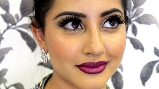 getlinkyoutube.com-Indian Makeup Tutorial   Guest at an Indian Wedding or Party