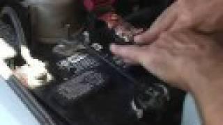 getlinkyoutube.com-Car Battery Charged With....?