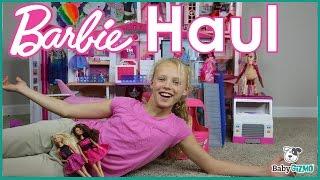 getlinkyoutube.com-HUGE BARBIE DOLL TOY HAUL!