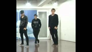 getlinkyoutube.com-'History' dance practice - Kris focus