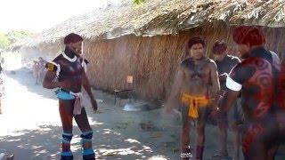 getlinkyoutube.com-Brazil..Xingu..Indios  Kamayura..painting  ..