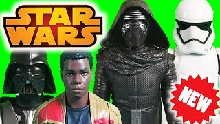"getlinkyoutube.com-Star Wars 12"" Figures The Force Awakens Force Friday New Toy Unboxing"