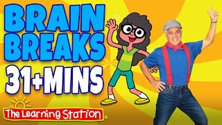 getlinkyoutube.com-Brain Breaks ♫ Action Songs and Dance Songs for Children Playlist ♫ Move and Freeze ♫ Kids Songs