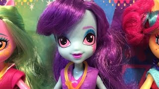 getlinkyoutube.com-New Friendship Games My Little Pony Equestria Girls Sunny Flare ShadowBolts School Spirit