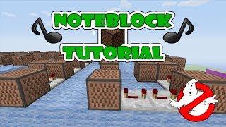 """getlinkyoutube.com-Ghostbusters Doorbell - Note Block """"Tutorial"""" (Minecraft Xbox/Ps3)"""