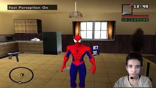 getlinkyoutube.com-مود الرجل العنكبوت فى لعبة جاتا GTA San Andreas