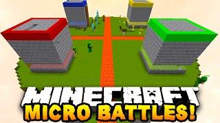 """getlinkyoutube.com-Minecraft MICRO BATTLES """"SKY PRANK!"""" #22 - w/ PrestonPlayz & Kenny"""
