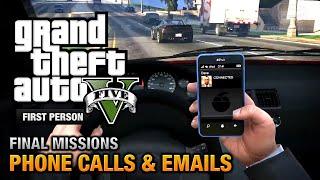 getlinkyoutube.com-GTA 5 - Phone Calls & Emails after Final Missions [PS4]