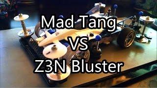 getlinkyoutube.com-【ミニ四駆】Tamiya Mini 4WD Racing: Mad Tang VS Z3N Bluster