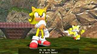getlinkyoutube.com-Sonic Adventure DX With Super Editor Mod Gameplay: Sonic's Story part 1