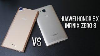 Huawei Honor 5X/GR5 vs Infinix Zero 3 - مقارنة تفصيلية