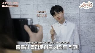 [ENG SUB] 180530 Wanna One - Special Album Jacket Shooting Behind by WNBSUBS