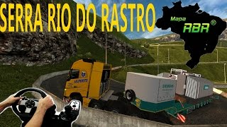 getlinkyoutube.com-EURO TRUCK SIMULATOR 2 - VOLVO FH 10X4 CARGA 95 TONELADAS, SUBINDO A SERRA DO RIO DO RASTRO, G27!!!