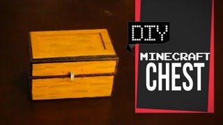 getlinkyoutube.com-Minecraft Chest - DIY GG