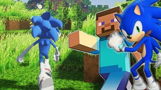 Minecraft mod Sonic Boom Custom Steve Animations release