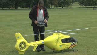 getlinkyoutube.com-BIG SCALE RC Heli (small COLLISION): Weston Park International Model Show 2015
