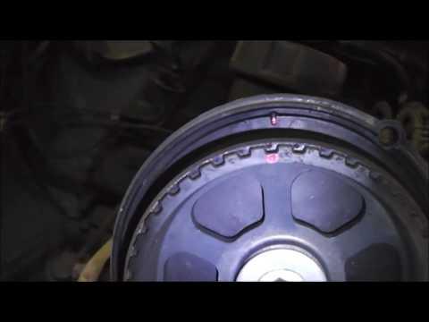 Замена ремня ГРМ и насоса ОЖ - Volvo 940 GL 2,3 л
