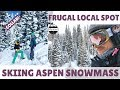 SKIING ASPEN SNOWMASS | Our Favorite Frugal Local Spot *COLLAB*