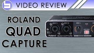 getlinkyoutube.com-Roland Quad Capture Audio Interface Video Review