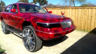 getlinkyoutube.com-Candy red grand marquis on 30's