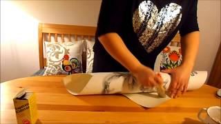 getlinkyoutube.com-DIY/Zrób to sam! / Proste dekoracje - Papierowy recykling