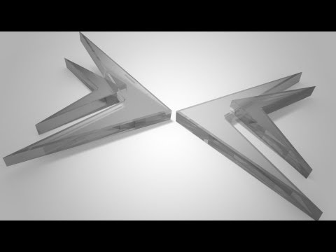 3D Glass Logo Effect | Photoshop CS6 Extended Tutorial