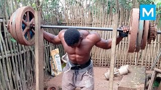 getlinkyoutube.com-No excuses - African Bodybuilders | Muscle Madness