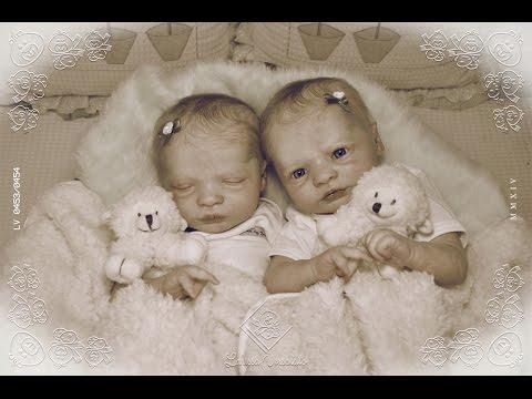 Gêmeas Realborn Alice e Agnes (elas já tem mamãe)