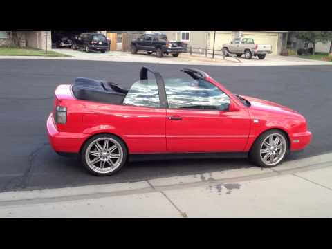 vw cabrio convertible top installation instructions