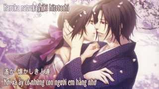 getlinkyoutube.com-Soukyuu no hata - Hakuouki Movie 2 Theme Song (Vietsub + Kara)