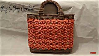 getlinkyoutube.com-CROCHET How to #Crochet Handbag Purse Bag #TUTORIAL #197