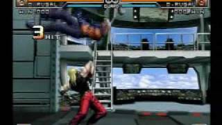 getlinkyoutube.com-KOF 2002 UM  boss character death combo movie