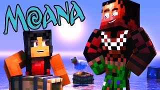 getlinkyoutube.com-MOANA IN MINECRAFT! | Minecraft Hide N Seek Roleplay