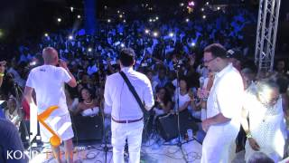 "getlinkyoutube.com-Michel Martelly & Tvice "" Ke'm Sere Medley "" @ Moulin Sur Mer"