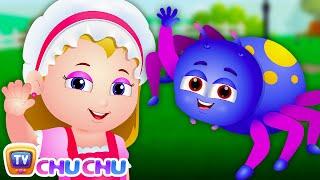 Little Miss Muffet Nursery Rhyme   Cartoon Animation Nursery Rhymes & Songs for Children   ChuChu TV
