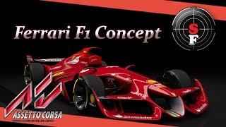 getlinkyoutube.com-Mods: Ferrari F1 concept - Assetto Corsa
